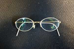 795099d7aa5 Lindberg Air Titanium Rim Fila 48 18 126 Braun Oval Frames Glasses ...