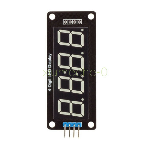 "1PCS Blue 4-Bits Digital LED TM1637 Clock Tube Display 0.56/"" Inch for Arduino"