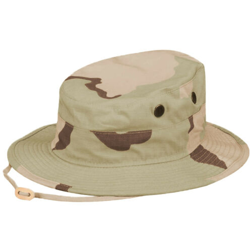 Propper Boonie Hat Mens Cotton Fishing Festival Cap Outdoor 3-Colour Desert Camo