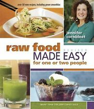 Raw Food Made Easy for 1 or 2 People by Jennifer Cornbleet (2012, Paperback, Revised)