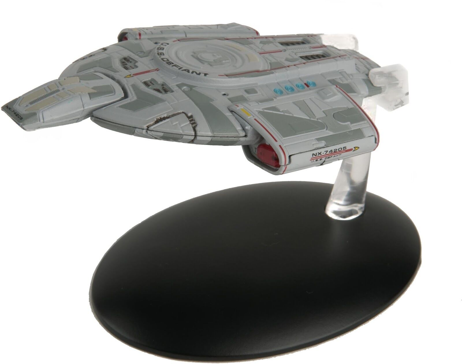Star Trek USS Defiant NX-74205 with Collectible Magazine  9 by Eaglemoss