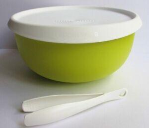 Olive TUPPERWARE Ergonomica Schüssel mit Deckel 2,5l