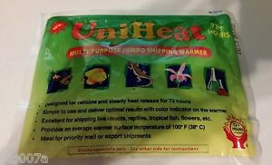 4 Pack UniHeat 72+ hr. Multi-Purpose Jumbo Shipping Warmer for Hatching Eggs