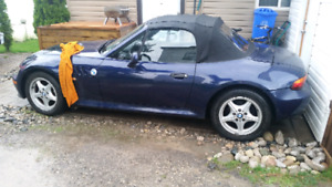 CLASSIC 1999 BMW Z3 ROADSTER Convertible! Certified $9500