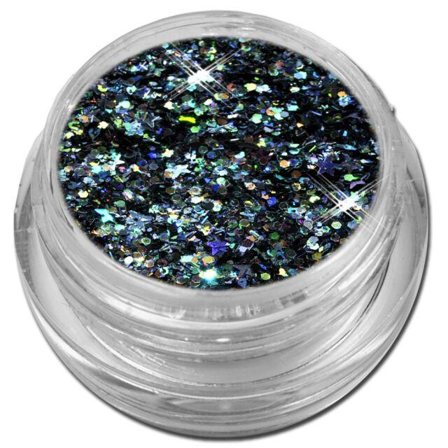 Mix Glitter Spezial Pailetten Flitter Puder Stern Rhombus Nail Art #00540