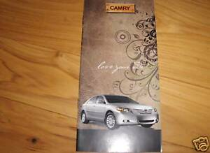 Image Is Loading 2008 Toyota Camry Accessories Owners Manual Supplement