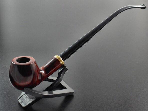 Original Mr.Brog smoking pipe CHURCHWARDEN BROWN HAND MADE PERFECT GIFT