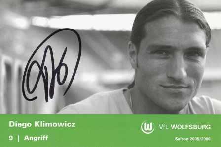 AK 3437 Diego Klimowicz VfL Wolfsburg