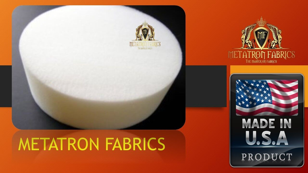 Round Stool Upholstery Foam Cushion High Density 2 Thick And 18