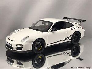 Norev Porsche 911 997 Ii Gt3 Rs 38 Facelift White Diecast Model