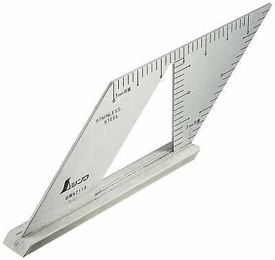 Japanese SHINWA Square Layout Miter ruler 45+135 Degrees carpenter Winkel 62060