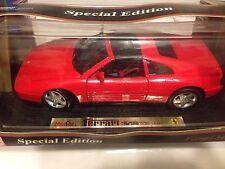 1:18 Maisto Red 1990 Ferrari 348 TS 348TS Item 31804