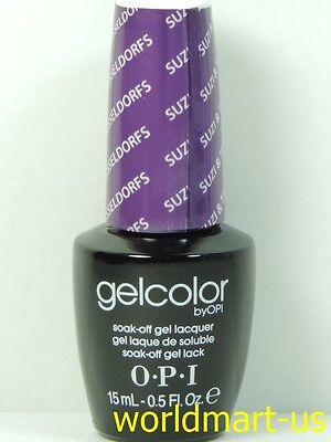 OPI Gel Color Soak Off : GC G23- Suzi & the 7 Dusseldorfs ---Ready Ship---