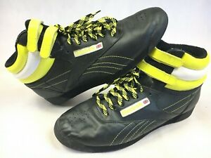 Classic Black Yellow Sneakers Shoes
