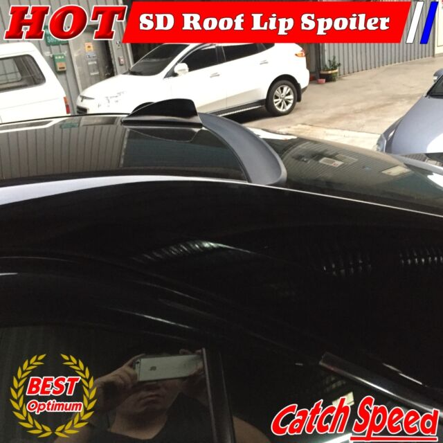Painted PUF SD Type Rear Window Roof Lip Spoiler Wing For