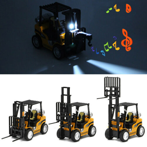 1:24 Forklift Truck Construction Vehicle Model Car Diecast Toy Collection Kids