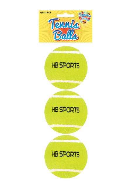 Tennis Balls Good Quality Sports Outdoor Fun Cricket Beach Dog 3 6 12 18 NEW UK