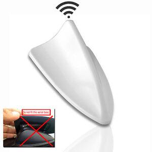bmw shark fin antenna white ebay. Black Bedroom Furniture Sets. Home Design Ideas