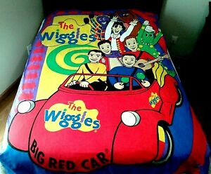 Wiggles-Big-Red-Car-Quilt-Duvet-Cover-Twin-Single-Reversible-Red-Blue-Yellow