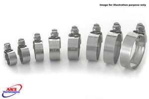 YAMAHA-DT-125-R-2005-2010-ACCIAIO-INOX-TUBO-RADIATORE-Clip-Clip-kit