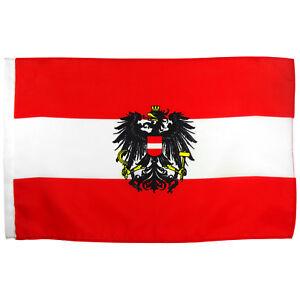 Flagge österreich Mit Adler Größe 30x45 Cm österreichische National