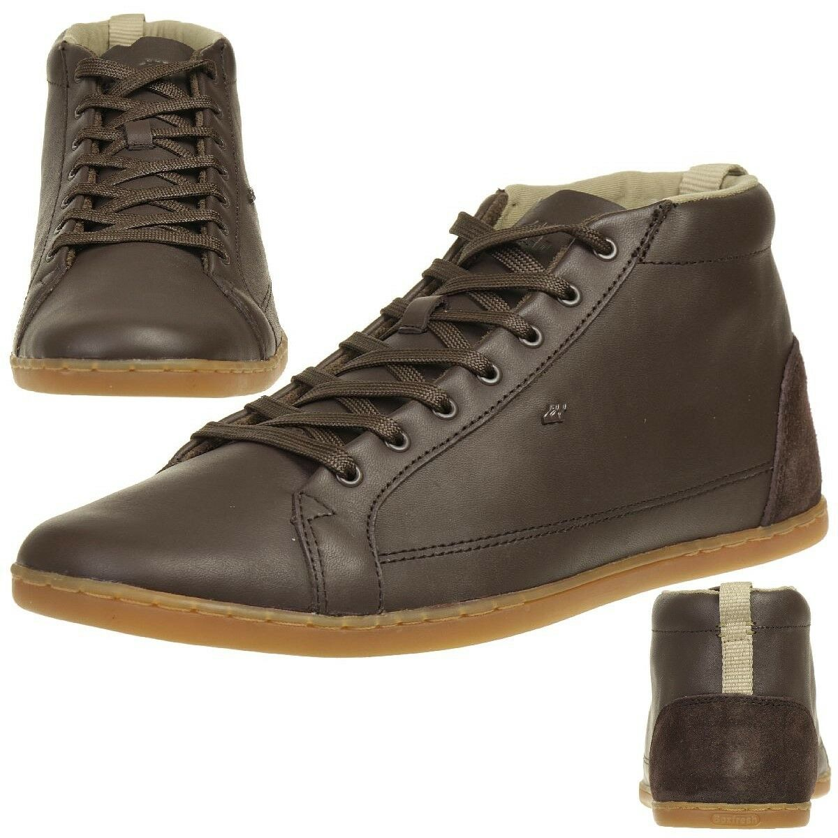 Boxfresh Trilyn SH LEA Herren Sneaker Schuhe Leder E14950 braun