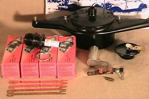 Details about 1928-1931 Model A Ford DLX Tune-up Kit w/Brass Contact Dist  Body & USA Points