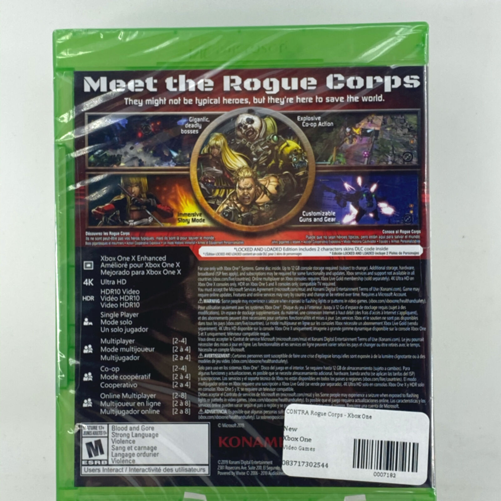 CONTRA Rogue Corps -: Xbox One [Brand New]