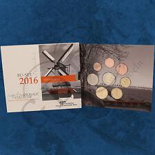 Niederlande - Jahrgangssatz - KMS 2016 BU - 3,88 Euro Droogmakerij -