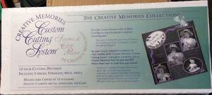 Creative-Memories-12-034-Custom-Cutting-System-Straight-Wavy-amp-Swell-NIB