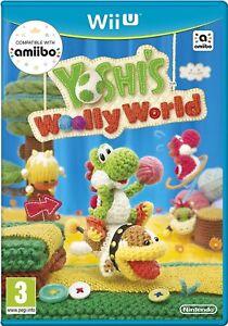 Yoshi-039-S-Lanoso-World-Nintendo-Wii-Nuovo-di-zecca-U-Super-Fast-amp-Consegna-Rapida-Gratis