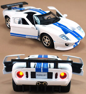 Image Is Loading White   Scale Ford Gt Cm Cast