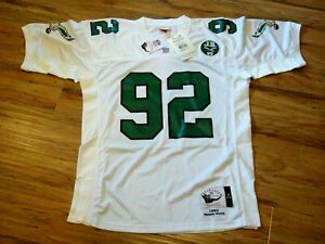 Details about REGGIE WHITE MITCHELL & NESS 1992 THROWBACK JERSEY SIZE 44 L PHILADELPHIA EAGLES