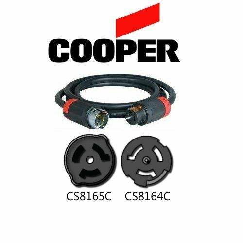 CS8165C to CS8164C Extension Cable 50A 480V 30 ft Iron Box # IBX-7927