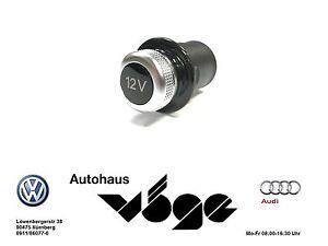 VW Original Zigarettenanzünder Attrappe KFZ VW AUDI SEAT SKODA 12V 7L6919311 Neu