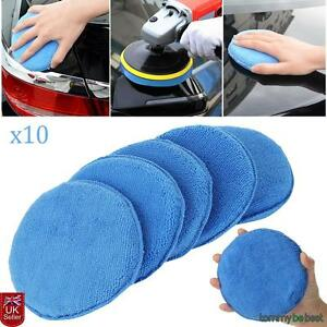 10pcs-Car-Microfiber-Polishing-Pads-Wax-Applicator-Foam-Sponge-Cleaning-Buffers