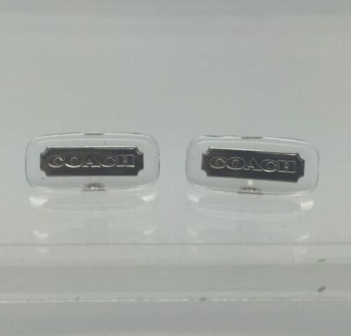 NEW!!! SILVER Authentic COACH Screw-On Style Nose Pads
