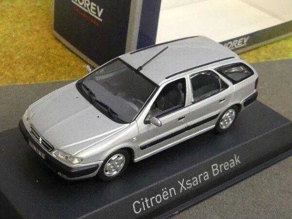 1 43 Norev Citroen Xsara Break 1998 silber 154306  | Kostengünstiger