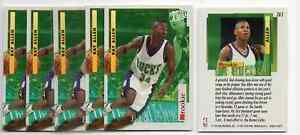 1X-RAY-ALLEN-1996-97-Fleer-Ultra-Encore-265-RC-Rookie-Lots-available-BUCKS