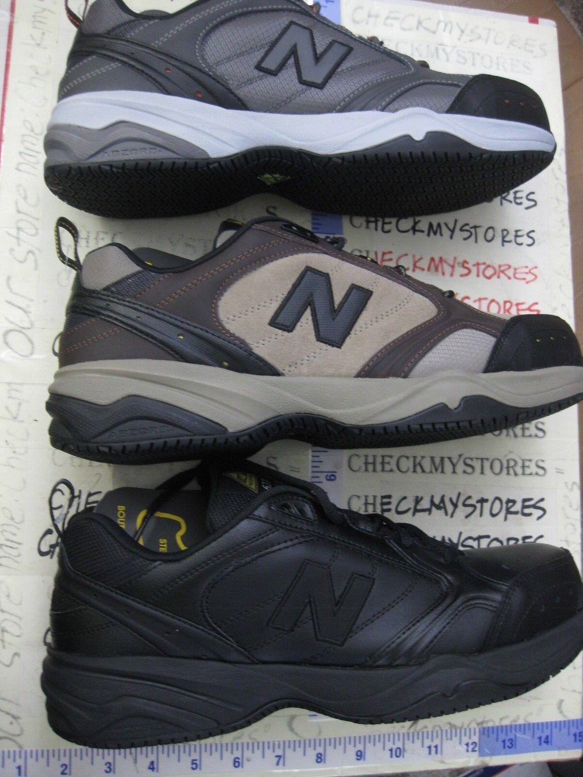 NIB New Balance 627 MID627 O G  Men's Steel Toe Work Sneakers CHOOSE SIZE COLOR