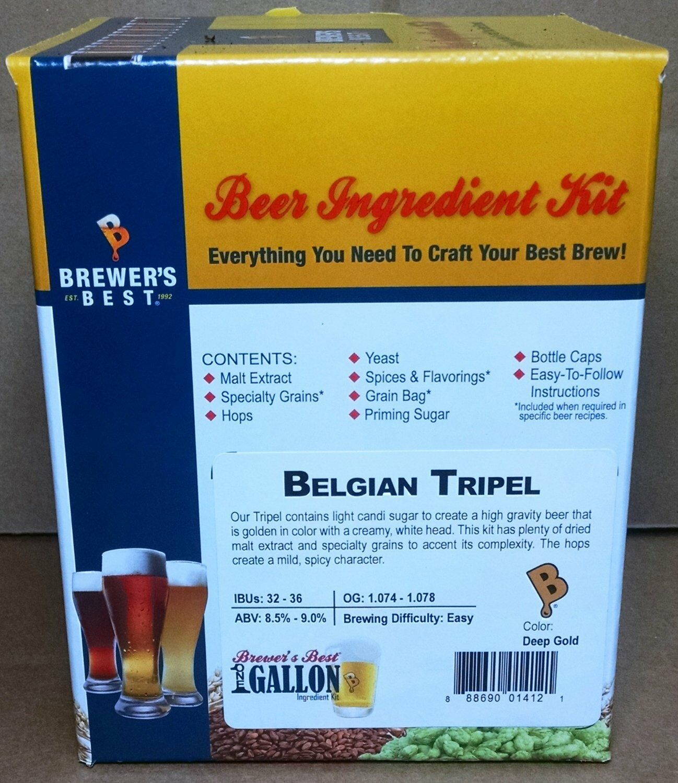 Brewer's Best Belgian Tripel One Gallon Home Brew Beer Making Ingredient Kit 2