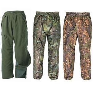 Para-Hombre-Jack-Pyke-Camuflaje-Camo-Impermeable-Pantalon-Cazador-caza-pesca