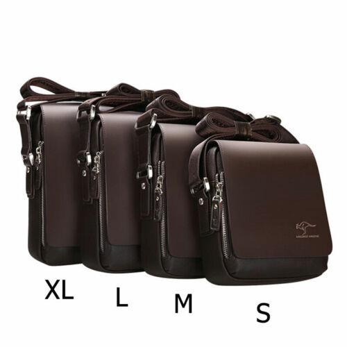 Bolsos de mensajero de marca de moda para hombre bolso de hombro de cuero de PU