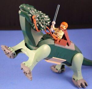 LEGO-STAR-WARS-7255-OBI-WAN-KENOBI-Minifigure-on-Dark-Green-Varactyl-039-Boga-039