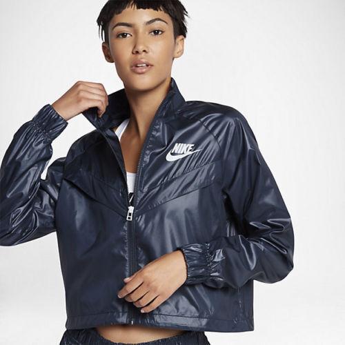 887040 Veste Tailles Xssm Marine Nike Woven 451 Femme Sportswear 4jLA5R