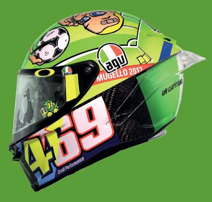 helmet moto agv piste gp r valentino rossi mugello 2017 edition limit e s achat avis opinion. Black Bedroom Furniture Sets. Home Design Ideas