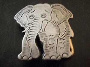 petit-ornement-boucle-de-ceinture-vintage-80-elephant-retro-belt-buckle
