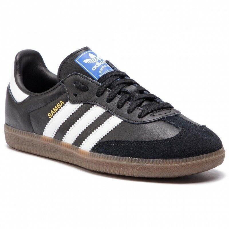 Adidas samba og b75807 caballeros Men zapatillas de deporte cortos negro marrón nuevo top hit
