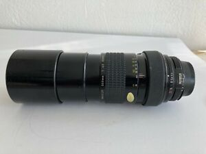 Nikkor 300 mm 4.5 lens manual focus AI. excellent!  Signed Print included