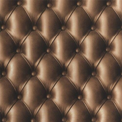 888803 Galerie Bluff brown Chesterfield Headboard Effect Feature Wallpaper